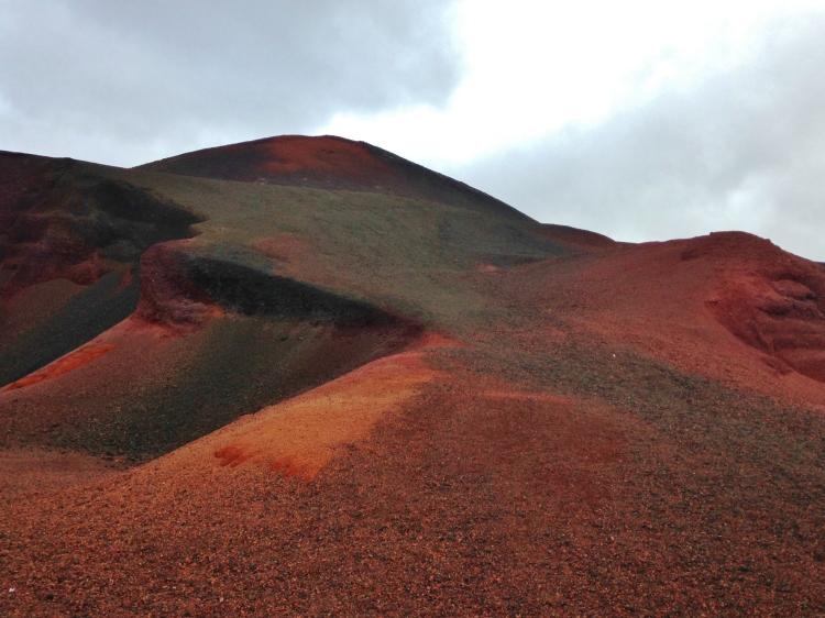 volcan rouge